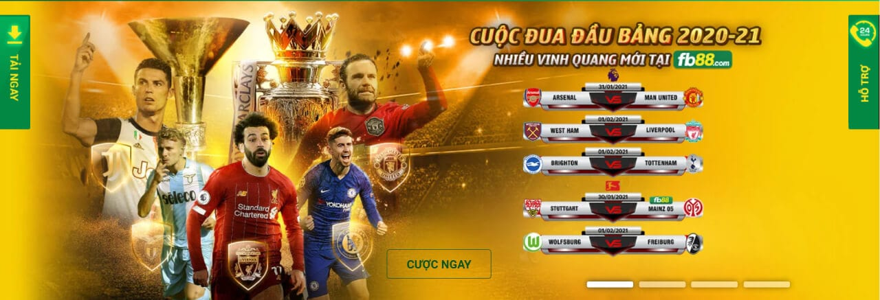 Giao diện game FB88