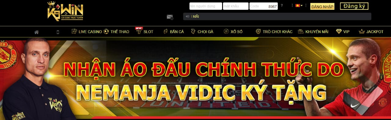 giao diện game k9win